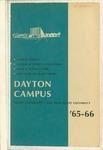 1965-1966 University Course Catalog: The Dayton Campus of Miami University and the Ohio State University