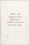 1968-1969 Wright State University Course Catalog by Wright State University