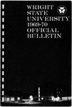 1969-1970 Wright State University Course Catalog by Wright State University