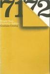 1971-1972 Wright State University Graduate Course Catalog