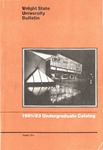 1981-1983 Wright State University Undergraduate Course Catalog