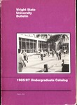 1985-1987 Wright State University Undergraduate Course Catalog