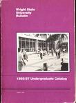 1985-1987 Wright State University Undergraduate Course Catalog