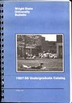 1987-1989 Wright State University Undergraduate Course Catalog