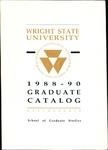 1988-1990 Wright State University Graduate Course Catalog