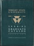 1990-1992 Wright State University Graduate Course Catalog