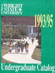1993-1995 Wright State University Undergraduate Course Catalog by Wright State University