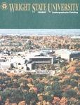 1995-1997 Wright State University Undergraduate Course Catalog