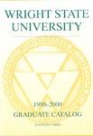 1998-2000 Wright State University Graduate Course Catalog