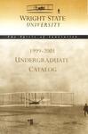 1999-2001 Wright State University Undergraduate Course Catalog