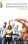 2003-2005 Wright State University Undergraduate Course Catalog
