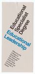 Educational Specialist Degree: Educational Leadership by Wright State University