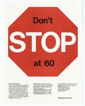 Don't Stop at 60 by Wright State University