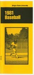 Wright State Baseball Media Guide 1981