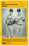 Wright State Baseball Media Guide 1987