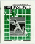 Wright State Baseball Media Guide 1991