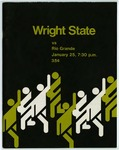 Wright State Vs Rio Grande Basketball Program 1975
