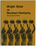 Wright State Vs Northern Kentucky Basketball Program 1973 by Wright State University Athletics