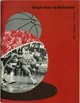 Wright State Vs Bellarmine Basketball Program 1978