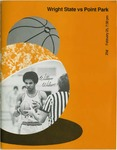 Wright State Vs Point Park Basketball Program 1978 by Wright State University Athletics