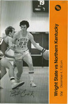 Wright State Vs Northern Kentucky Basketball Program 1978