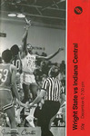 Wright State Vs Indiana Central Basketball Program 1978