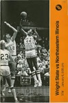 Wright State Vs Northeastern Basketball Program 1979