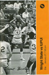 Wright State Vs IUPUI Basketball Program 1979