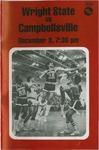 Wright State Vs Campbellsville Basketball Program 1979