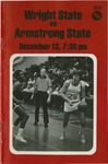 Wright State Vs Armstrong State Basketball Program 1979