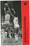 Wright State University Vs Central State University Basketball Program 1979