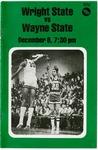Wright State University Vs Wayne State University Basketball Program 1979