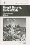 Wright State University Vs Central State University Basketball Program 1981