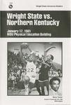 Wright State University Vs Northern Kentucky University State Basketball Program 1981
