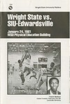 Wright State University Vs SIU-Edwardsville Basketball Program 1981