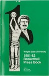 Wright State University Basketball Press Book 1980-1981