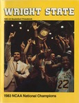 Wright State University Basketball Press Book 1983-1984