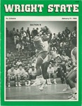 Wright State University Vs Urbana University Basketball Program 1985