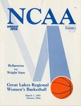 Wright State University Vs Bellarmine University Basketball Program 1987