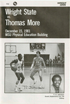 Wright State University vs. Thomas More Basketball Program 1981