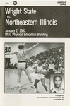 Wright State University vs. Northeastern Illinois University Basketball Program 1982