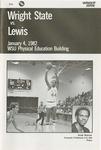 Wright State University vs. Lewis University Basketball Program 1982 by Wright State University Athletics