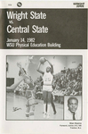 Wright State University vs. Central State University Basketball Program 1982