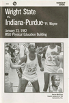 Wright State University vs. Indiana-Purdue-Ft. Wayne University Basketball Program 1982