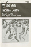Wright State University vs. Indiana Central University Basketball Program 1982 by Wright State University Athletics
