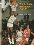 Wright State Basketball 1985-86 Raider Media Guide