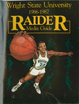 Wright State Basketball 1986-87 Raider Media Guide