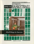 Wright State University Women's Basketball Media Guide 1990-1991