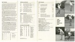 Wright State University Golf Media Guide 1987