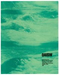 OAISW Swimming and Diving Championships Program, 1977